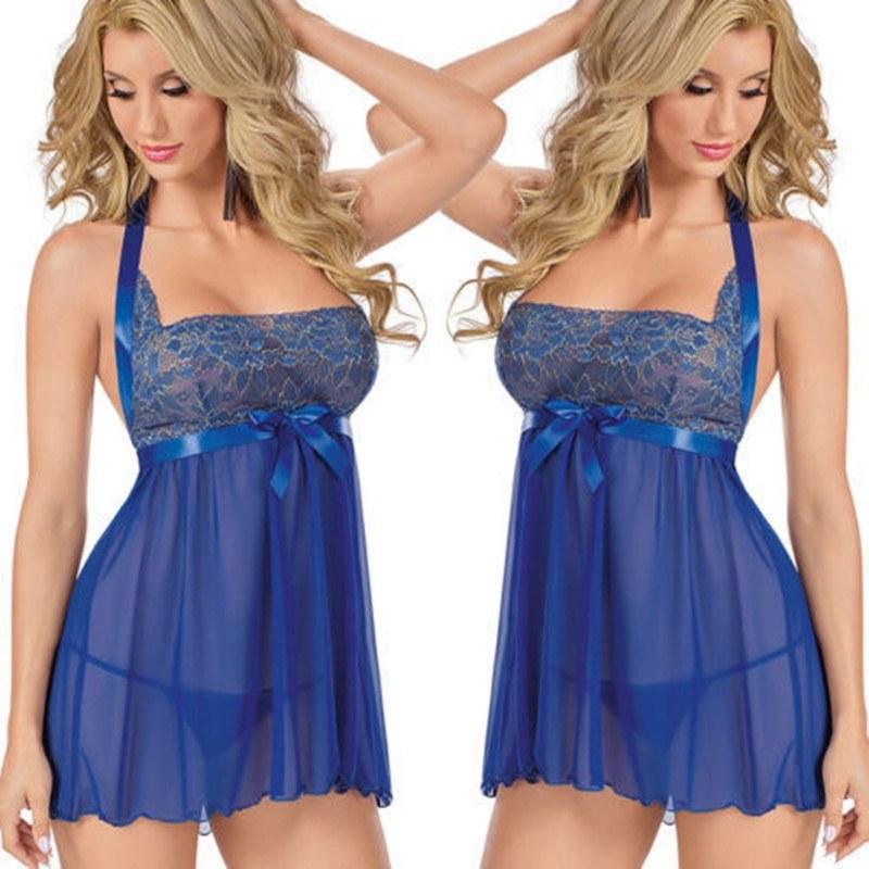 Plus Size 6XL Sexy Lingerie - Women Lace Babydoll