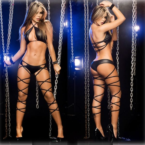 Hot Two-piece Set Pole Dance Clothing