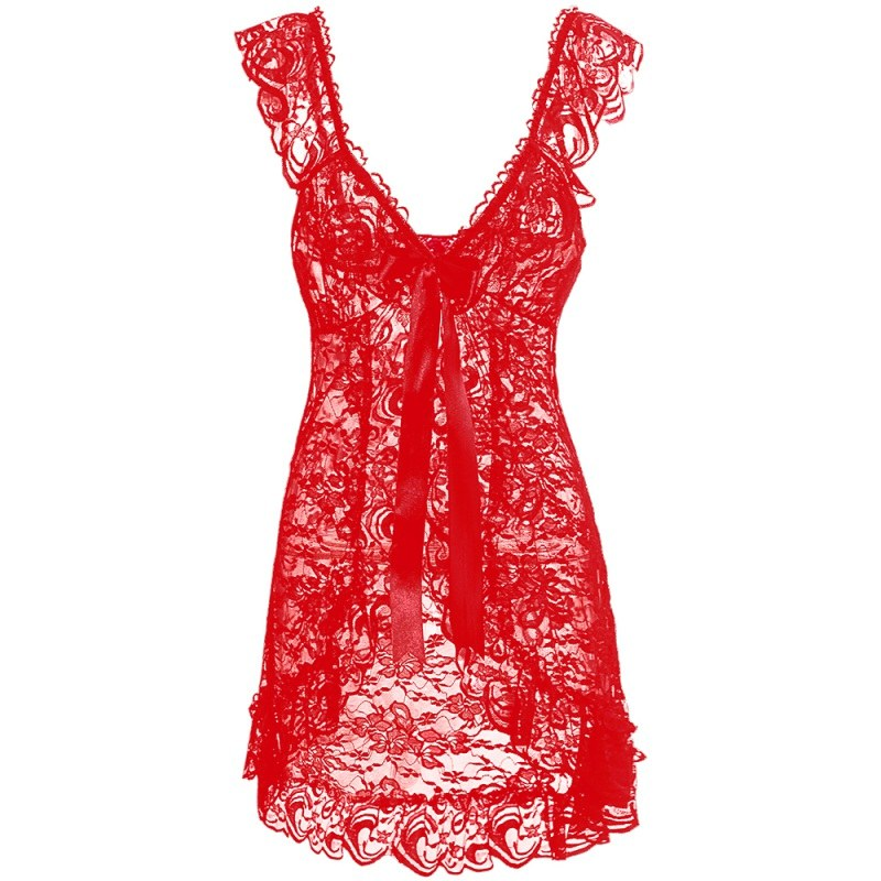 Women Sexy Lingerie - Sleepwear G String Bodydoll