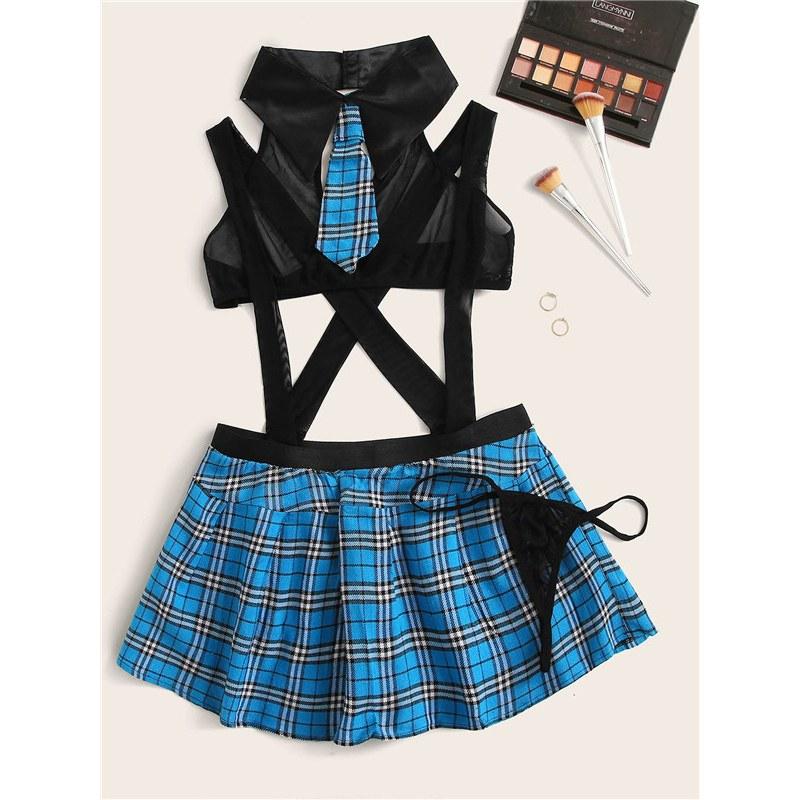 Sexy Schoolgirl Cosplay Role Play Costumes