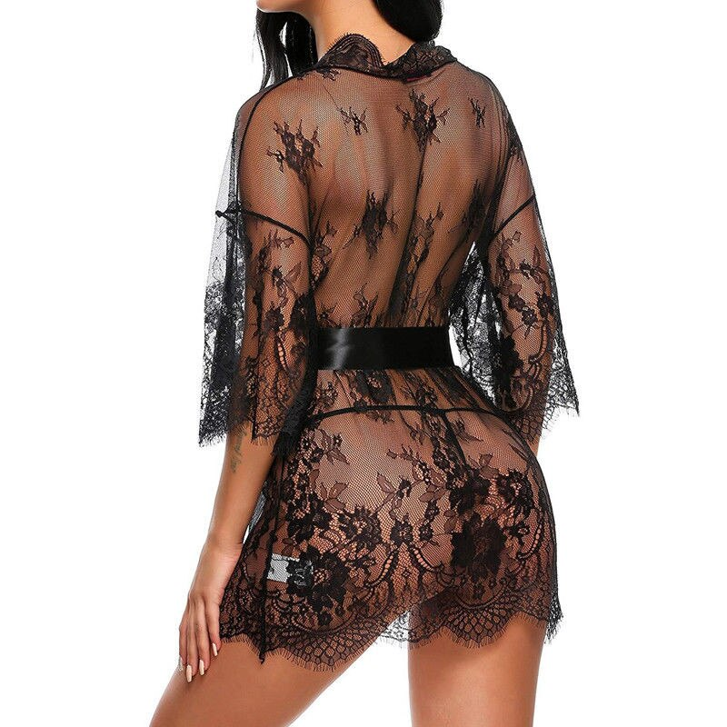 Fashion Lingerie transparent V-Neck Sex Babydoll