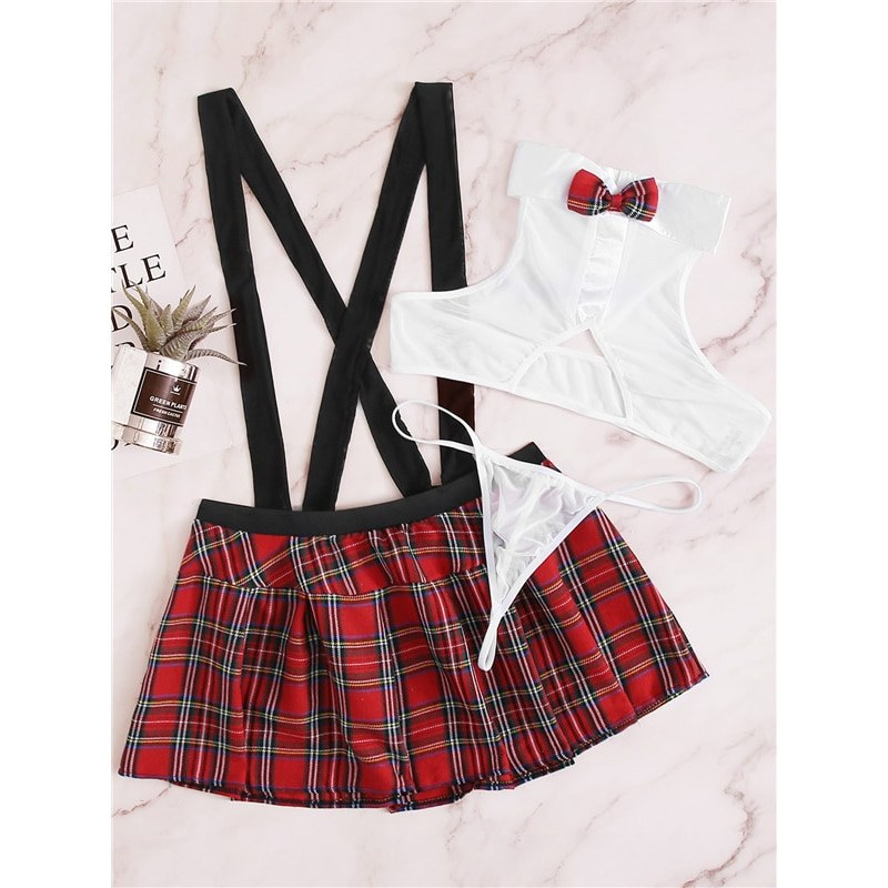 Sexy Schoolgirl Cosplay Role Play Costumes Roleplay Uniform