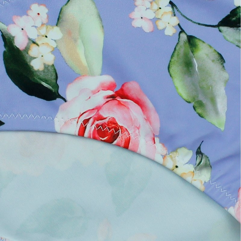 New Print Floral Swimwear - Women Low Waist Bikini Set