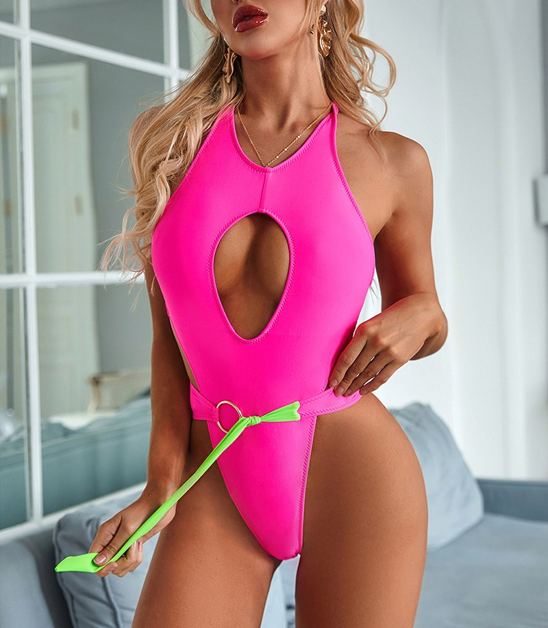 Sexy Cut Out Swimwear - One Piece Bathing Monokini