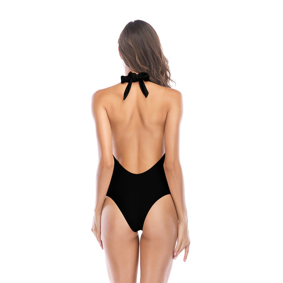 Sexy One Piece Swimsuit - Monokini Bathing Suits For Ladies