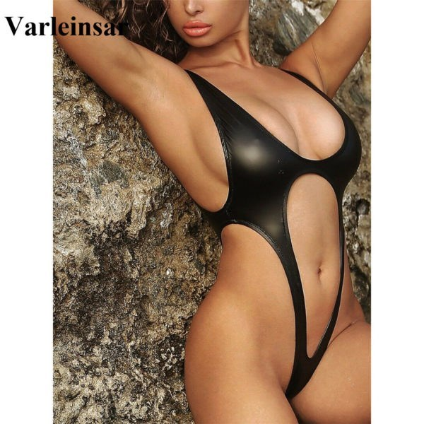 2020 Sexy Tummy Cut Out Thong - Women One Piece Swimsuit