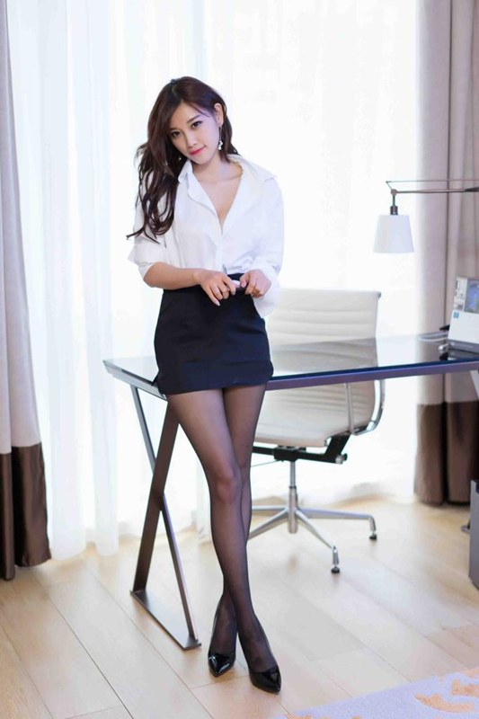 Sexy Office Secretary Costume - School Teacher - Cosplay Uniform