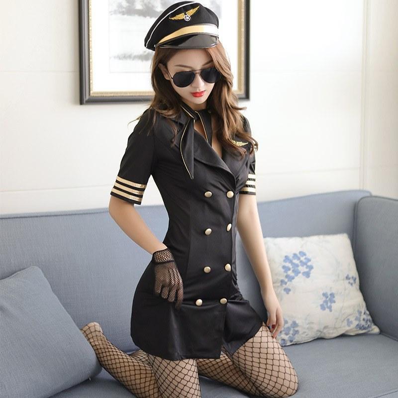 Stewardess Uniform - Temptation - Sexy flight Attendant Costume