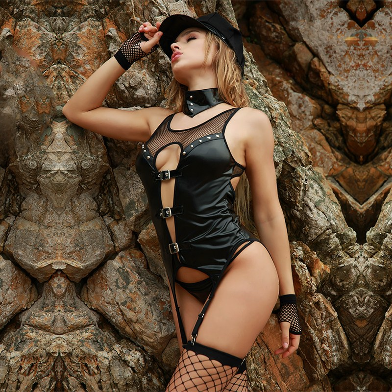 Sexy Police Woman Cosplay Costume - Adult Fantasies
