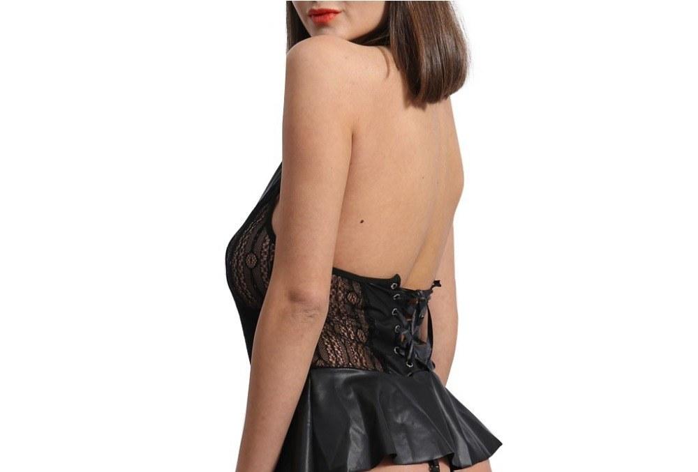 Plus Size - Sexy Porno Maid Dress - Costumes Sex Uniform