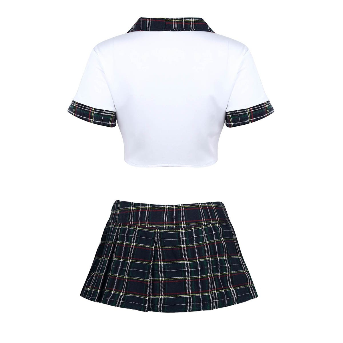 Naughty Lingerie School Costume - Sexy Skirt Student Girls
