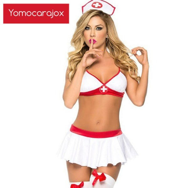 Sex Uniform - Nurse Cosplay Hollow Costumes - Halloween