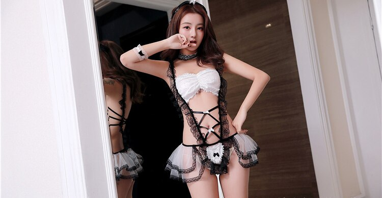 Japanese Maid Cosplay Sexy Costumes Classical Erotic Servant