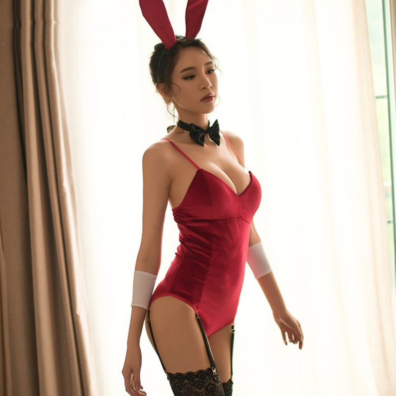 Christmas Role Play Bunny Girl - Rabbit Uniform