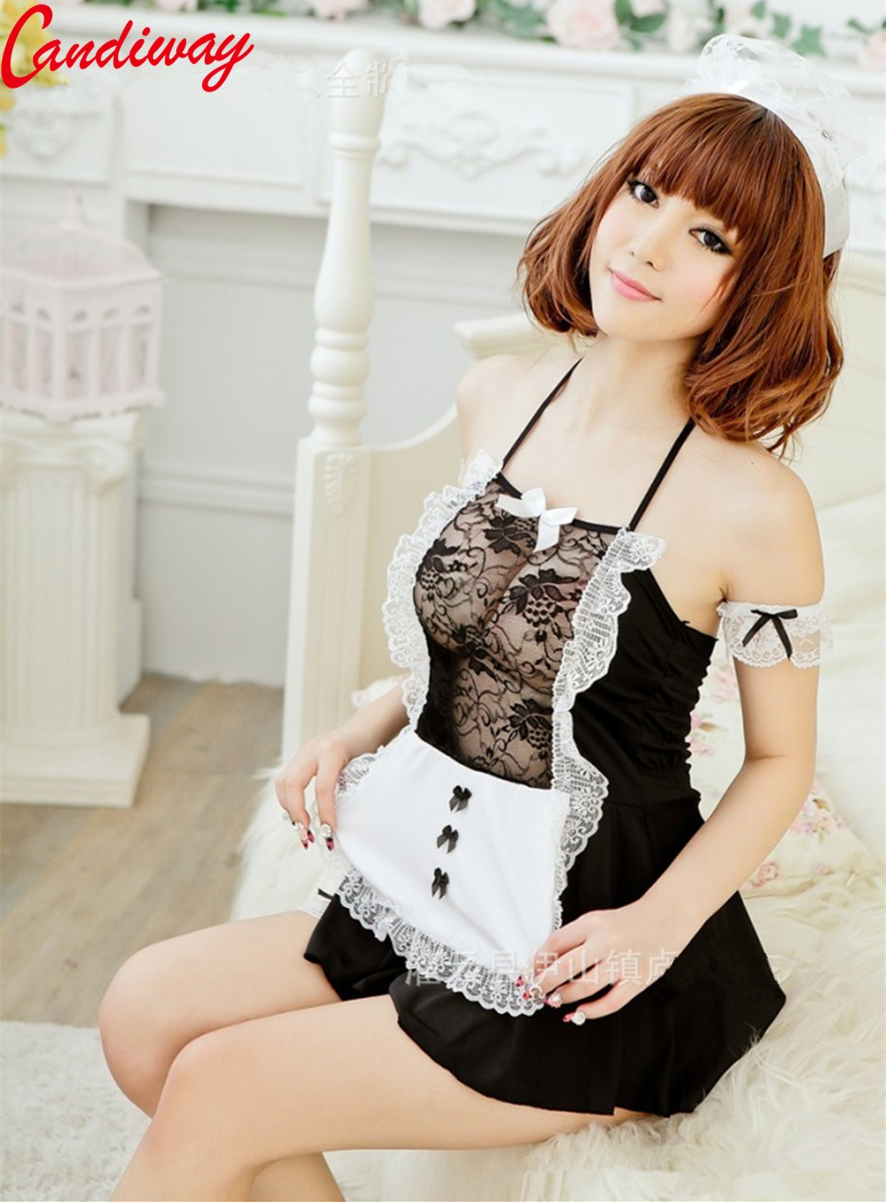 Cosplay Maid Clothes - Sexy Lace Lady Sex Uniform