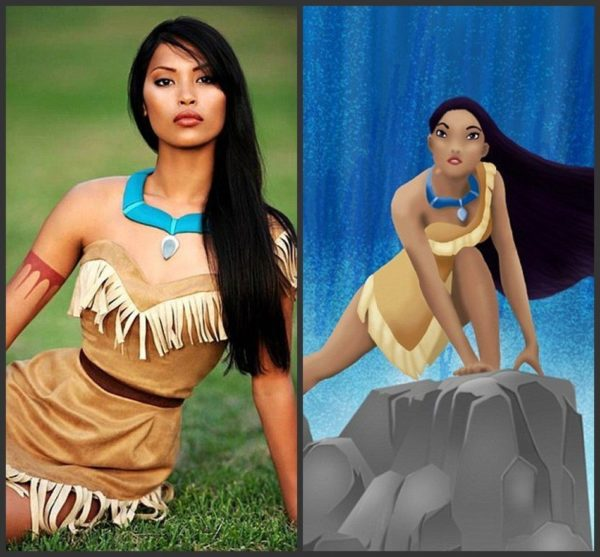 Princess Pocahontas - Indian Costume - Adult Halloween Outfit