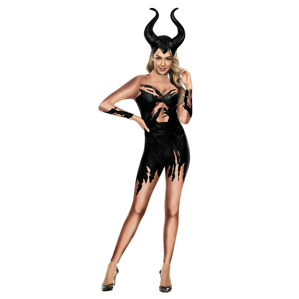 Maleficent Costume - Carnival Evil - Cosplay Outfit Halloween