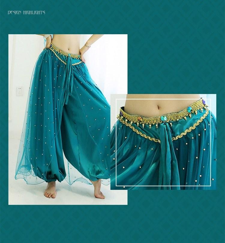 Halloween Costume - Jasmine Princess - Stage Dress