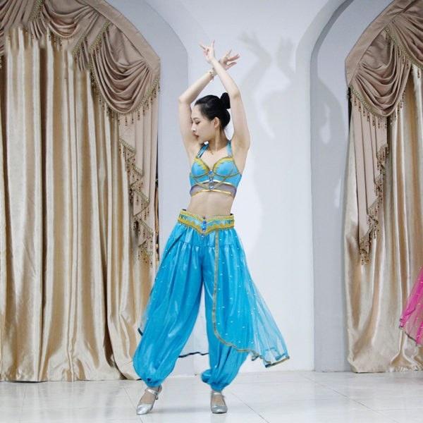Jasmine Princess - Performance Belly Dance - Bollywood Costume