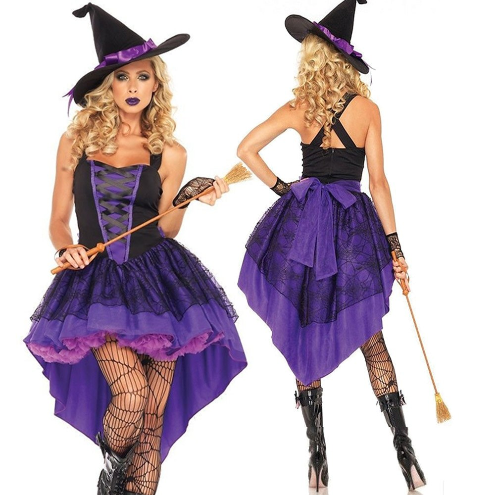 Halloween Demon - Evil Witch Costume - Cosplay Stage Show