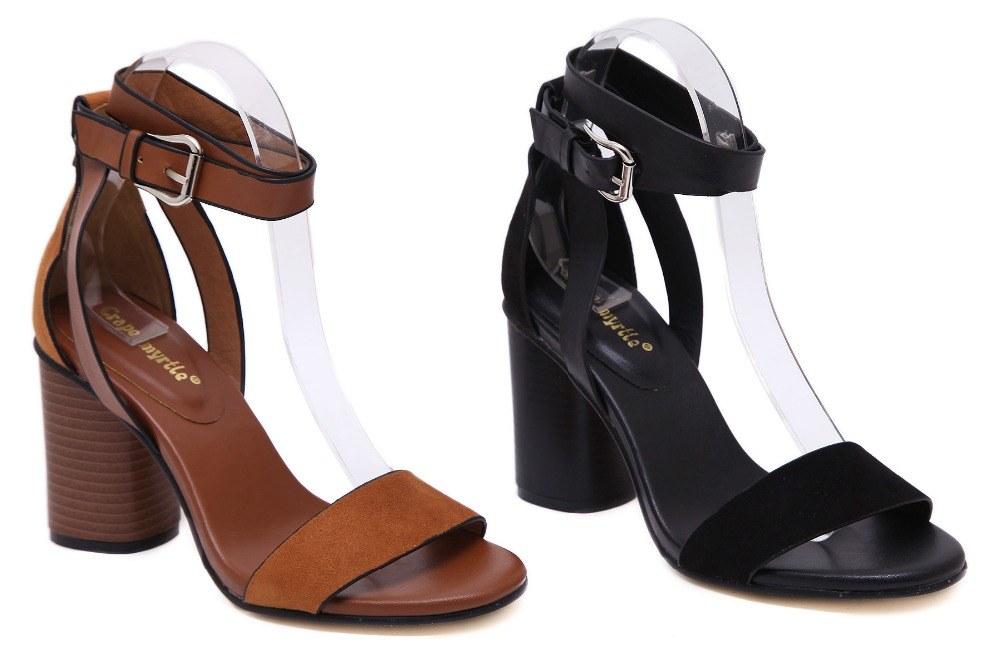 NIUFUNI Summer Thick Heeled - Women Sandals