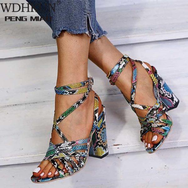 Gladiator Sandals - Woman Summer Vintage Open Toe Sandals