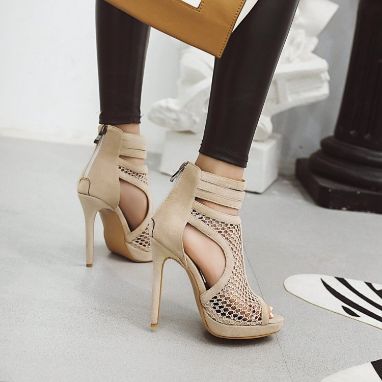 2020 new summer women's high heels - Korean fashion banquet shoes