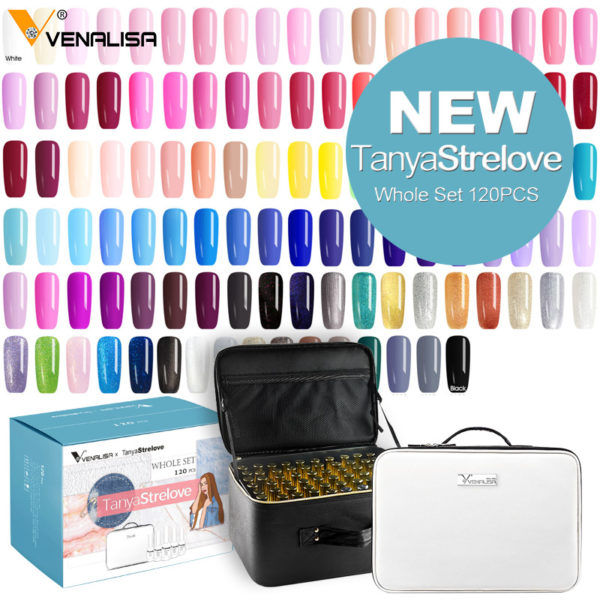 Venalisa 2020 New Fashion Color 12ml/7.5ml - Gel Polish Vernish
