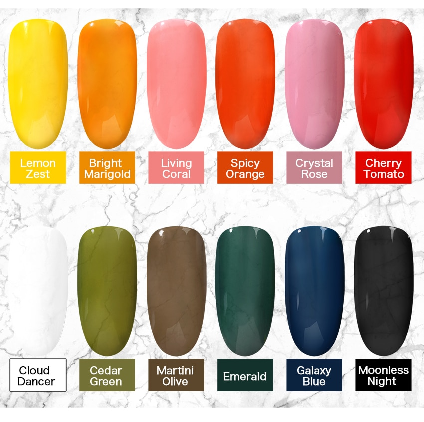 KADS 9.5ml New Translucent Jelly Nail Polish for Nail Vernis