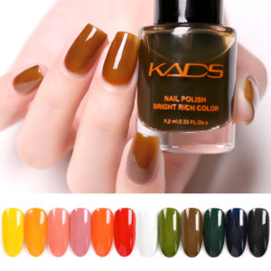 KADS 9.5ml New Translucent Jelly Nail Polish for Nail Vernis