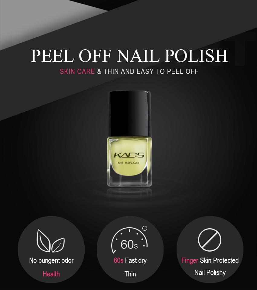 KADS 9.5ml New Mica Nail Polish Colors Nail Art Polish