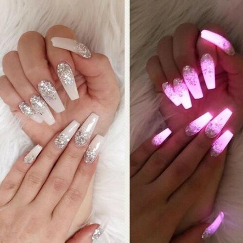 Luminous Nail Polish Luminescence in Multicolor Matte Nail Polish