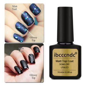 10ml DIY Matte Top Coat Gel Nail Polish Manicure