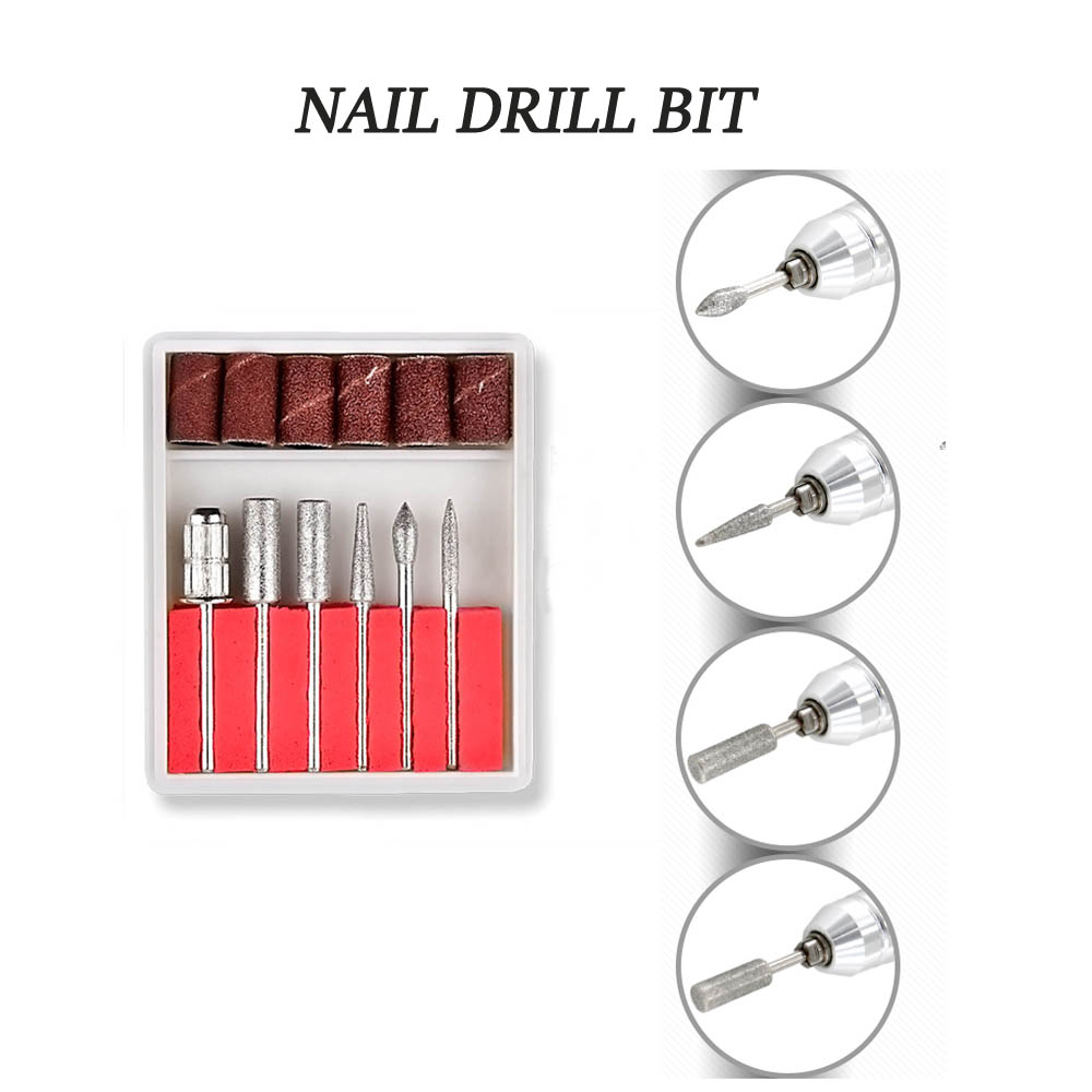 20pcs Gel Nail Polish Set 35000rpm Nail Drill Machine kit