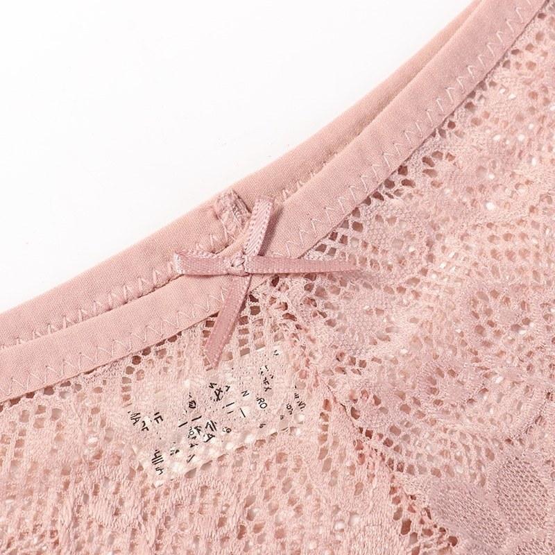 3 Pcs Panties - Sexy Lace Breathable Soft Lingerie