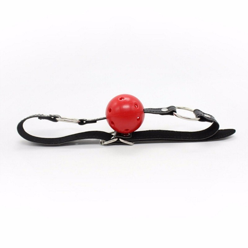 Hollow Red Ball Mouth - Sex Stopper Romance Toys for Couples